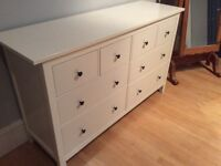 Ikea Hemnes Drawers. Very good condition