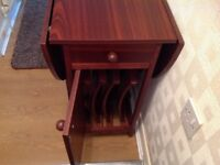 DROP LEAF TABLE STOWAWAY CHAIRS