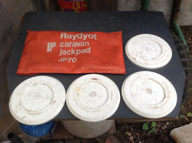 Caravan Jack Pads x 4 (Raydyot)