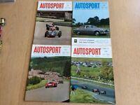 Four Vintage Autosport Magazines 1966