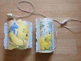 Mothercare Winnie The Pooh Ceiling Light Shade+Table Lamp(Toys,Lego,Minion,PeppaPig,Barbie,Disney)