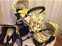 Cosatto giggle 2 travel system in treet