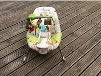 Fisher Price Comfy Time Bouncer chair for sale