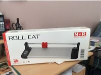 ROLL CAT PAPER TRIMMER by Möbius & Rupper of Germany