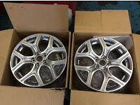 Roadwheels, off Mitsubishi Outlander 8Jx17 near perfect condition 2 only in Mitsubishi packaging