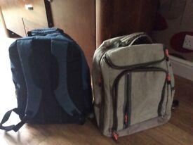 Antler travel back packs x2