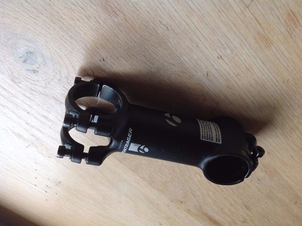 """Bontrager """"blendr"""" bike stemin Dingwall, HighlandGumtree - Bontrager Bike stem 100mm long 7 degree 31.7mm stem width Brand new but too long for me. Normally retails at £49.99"""