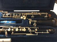 A really good Buffet Oboe inc case and accessories.