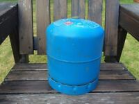 907 gas bottle empty ideal spare camping
