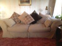 2 tetrad 3 seater sofas identical