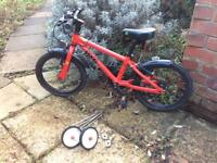 """Kids bike/Kids' bicycle (16"""" wheels) v.g."""