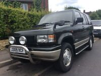 Isuzu big horn. Lotus edition, 4x4. 6 months mot. 100000 miles on clock.