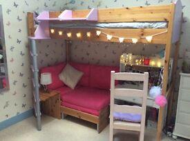 Stompa First Generation Casa 1 High Sleeper Single Bed