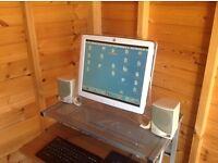 Power Mac G4 with digital monitor