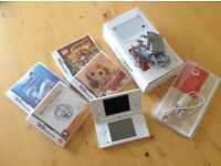 Nintendo DSi and various games