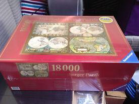 18000 piece jigsaw - Ancient world atlas