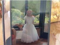 Girls communion dress age 6