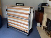 Jay Be 4foot folding bed.