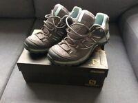 Solomon Ellipse Aero Womens Outdoor Shoes size 5.5