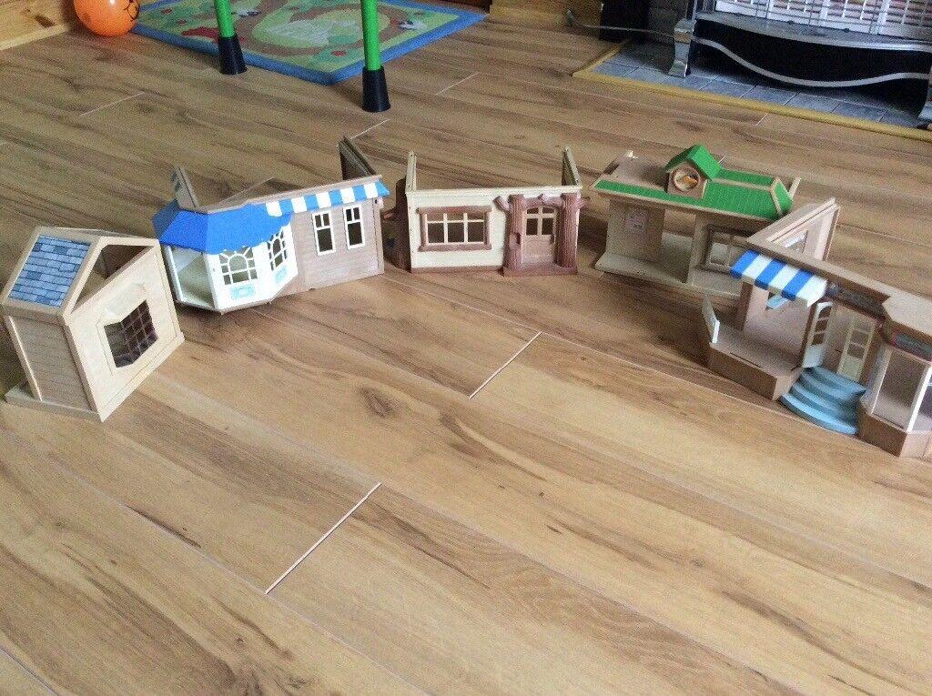 5 sylvanian families houses