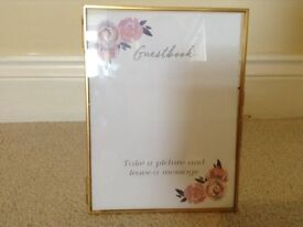 Gold coloured standing Photoframe