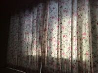 Pair of handmade curtains for sale