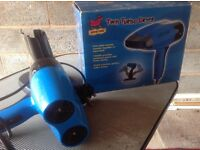 Twin turbo hair dryer for dog