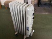 Dimplex electric heater.