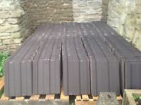 980 Marley major roof tiles in antique brown and 31 Marley ridge tiles