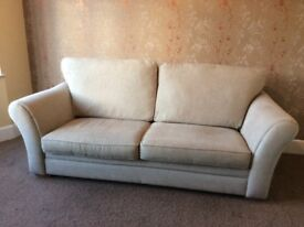 Large 3 seater sofa, first class condition