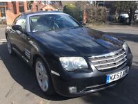 Chrysler crossfire 3.2 v6 automatic sport box fsh leather 57 reg