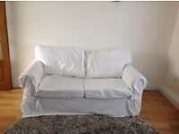 FREE IKEA Ektorp sofa bed in white - collection only