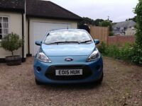Ford KA Edge 1.2 litres 3 door blue