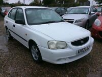 Hyundai, ACCENT, Hatchback, 2002, Manual, 1341 (cc), 5 doors @ Aylsham Road Affordable Cars