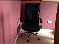 Excellent condition leather office chair