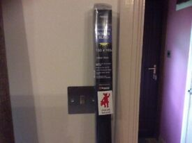 Black Thermal Blackout Roller Blind. Brand New. Boxed