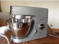 Kenwood Chef Classic Food Mixer and attachments