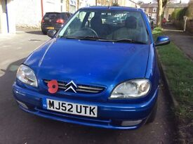 Citeroen saxo 1.0 ideal first car only 80000 miles