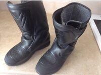 Frank Thomas Gortex motorcycle boots size 7/8