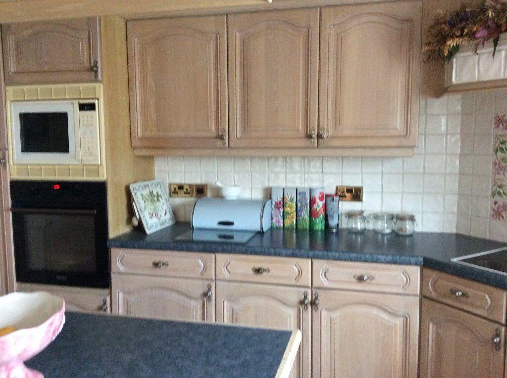 Limed Oak Kitchen Units In Preston Lancashire Gumtree