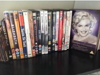 DVD's £ 1 each . WHS every 3 £ 1