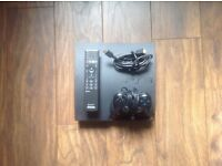 PS3 250GB With controller, remote control and 12 Games