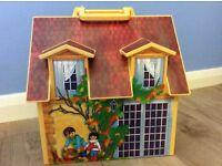 Playmobil 'Take Along' dolls house. (used)