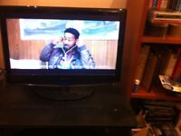 "Tecknia 22"" T.V with in built DVD player and Freeview."