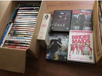 100 mixed dvds