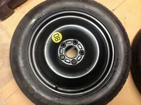Ford C-Max Space Saver Spare Wheel Almost New Fits also Grand C-Max