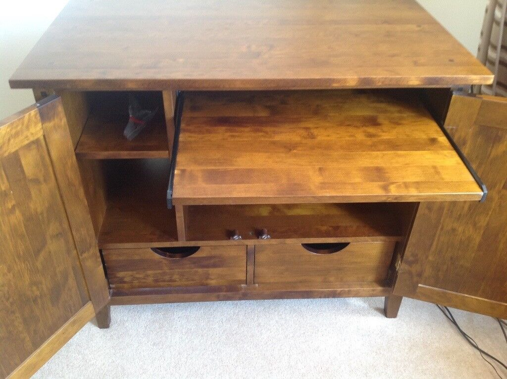 Next solid wood sideboard bureau medium wood see other matching