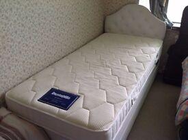 Bed (with Dunlopillo mattress)