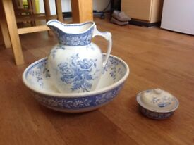 Vintage jug and bowl set
