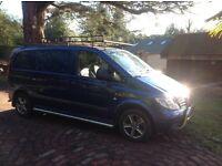 Mercedes Vito 109cdi diesel 2007 mot history mettallic paint alloys